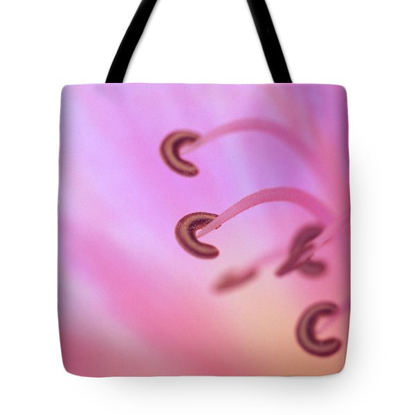 The Secret Life Of A Lily Tote Bag by Kathy Yates
