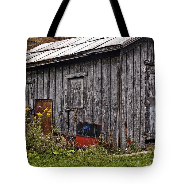 The Shed Tote Bag by Steve Harrington