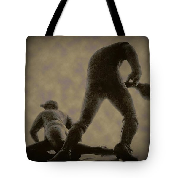 The Slide - Kick Up Some Dust Tote Bag by Bill Cannon