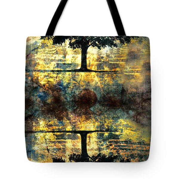 The Small Dreams Of Trees Tote Bag by Tara Turner