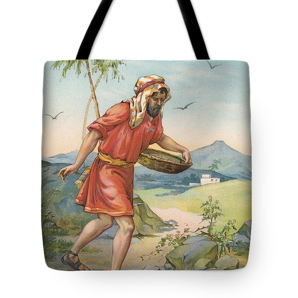 The Sower Tote Bag by Ambrose Dudley