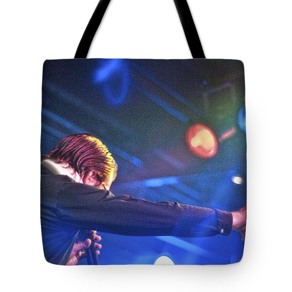 The Spazmatics Tote Bag by Sheri Bartoszek