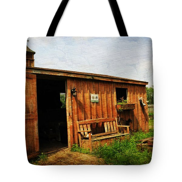 The Stable Tote Bag by Paul Ward