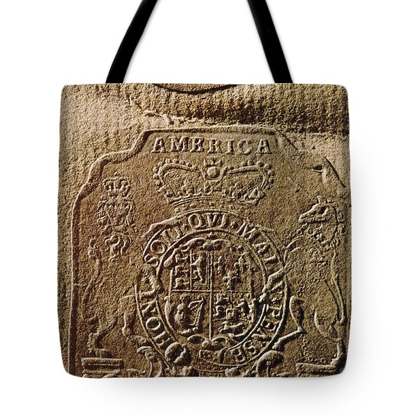 The Stamp Act Tote Bag by Photo Researchers