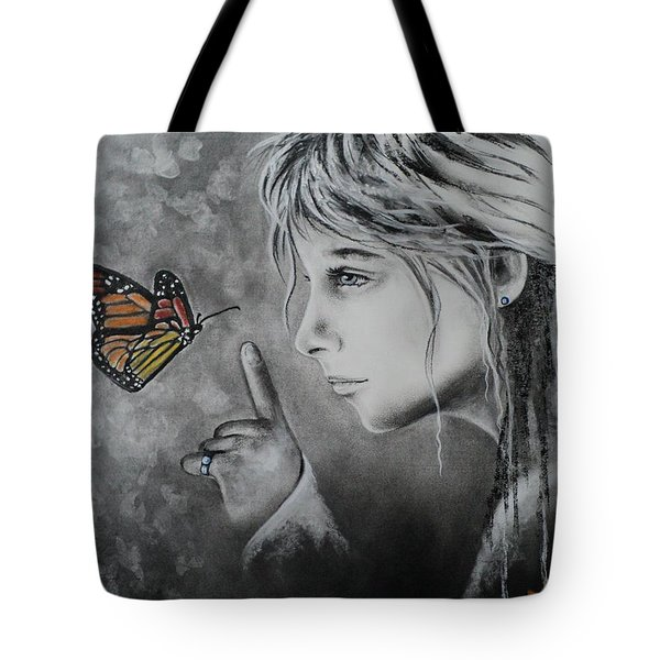 The Story Of Me Tote Bag by Carla Carson