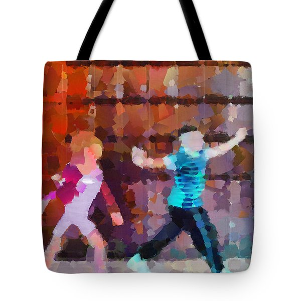The Striders Tote Bag by Steve Taylor