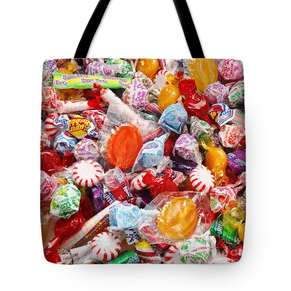 The Sugar Rush Square Tote Bag by Andee Design