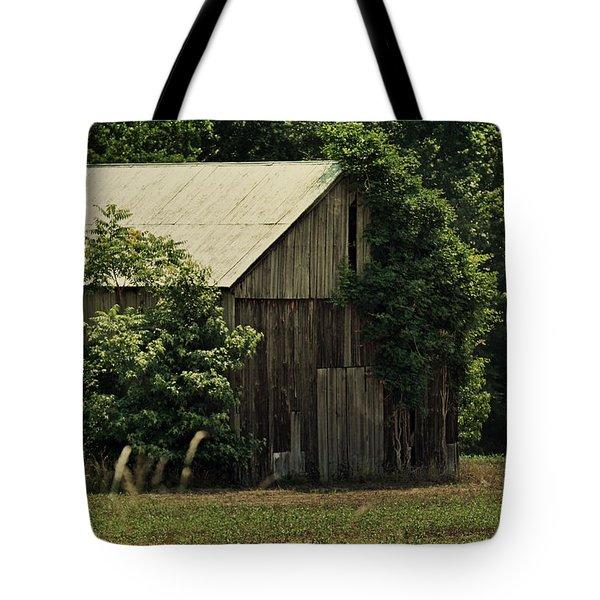 The Summer Barn Tote Bag by Rebecca Sherman
