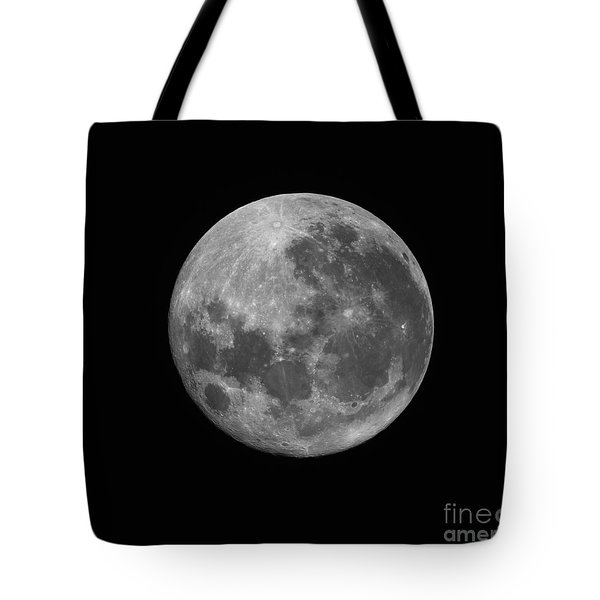 The Supermoon Of March 19, 2011 Tote Bag by Phillip Jones
