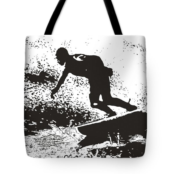 The Surfer Tote Bag by Brian Roscorla