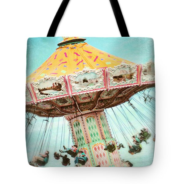 The Swings 2 Tote Bag by Sylvia Cook