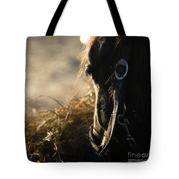 The Taste Of Fresh Hay  Tote Bag by Angel  Tarantella