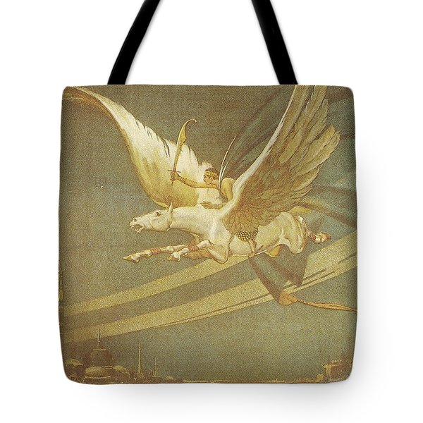 The Thief Of Bagdad Tote Bag by Nomad Art And  Design