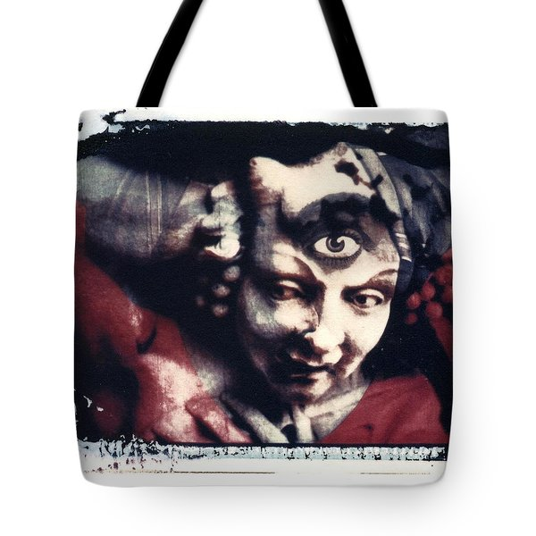 The Third Eye Polaroid Transfer Tote Bag by Jane Linders