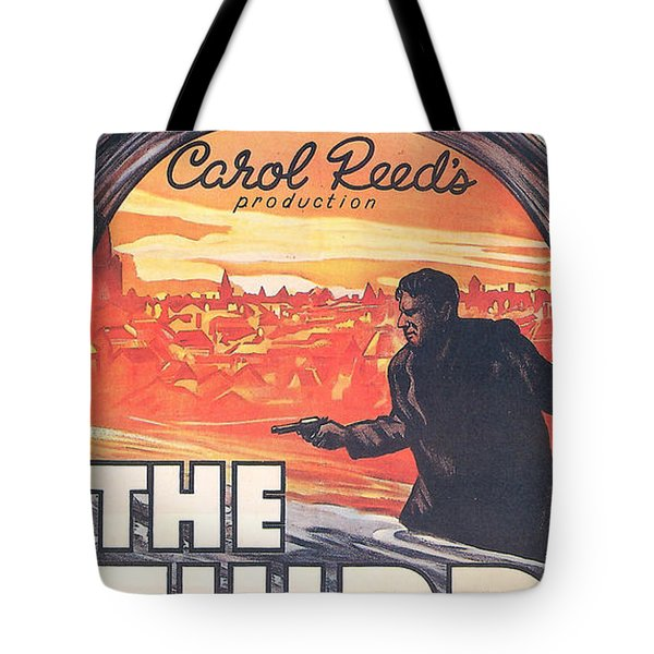 The Third Man  Tote Bag by Nomad Art And  Design