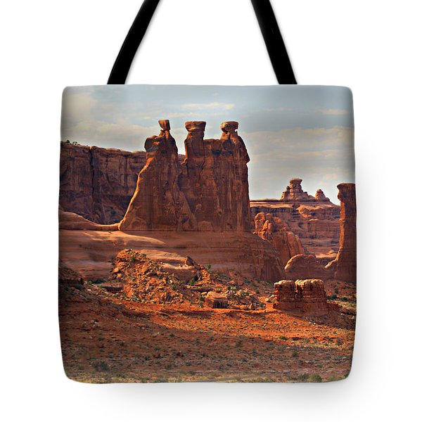 The Three Gossips Tote Bag by Marty Koch