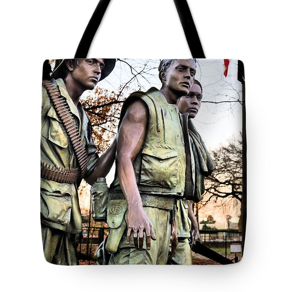 The Three Tote Bag by JC Findley