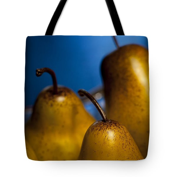 The Three Pears Tote Bag by Scott Norris