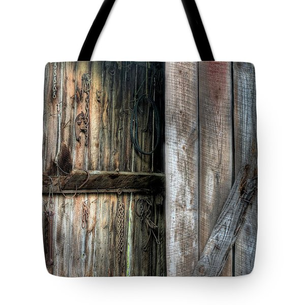 The Tool Shed Tote Bag by JC Findley