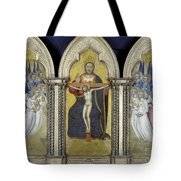 The Trinity With Angels Tote Bag by Granger