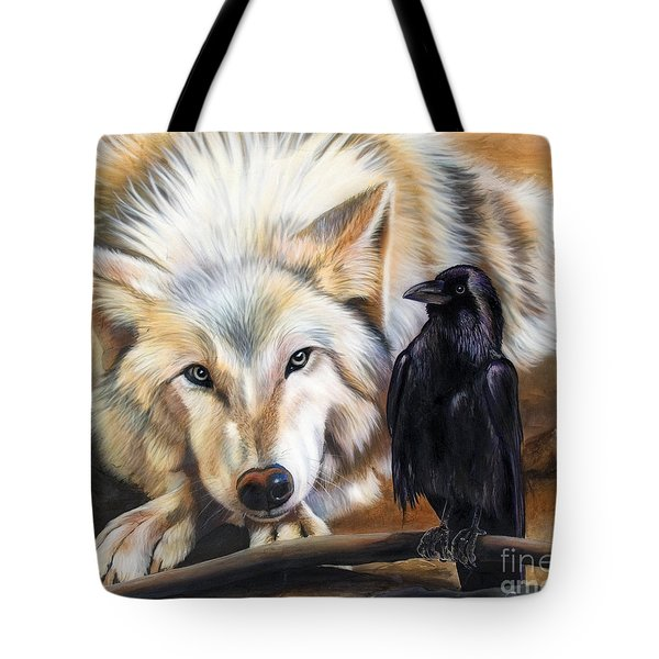The Truce Tote Bag by Sandi Baker
