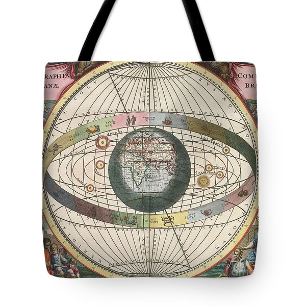 The Universe Of Brahe Harmonia Tote Bag by Science Source