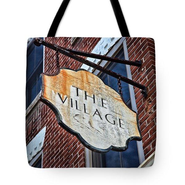 The Village Tote Bag by Karol  Livote