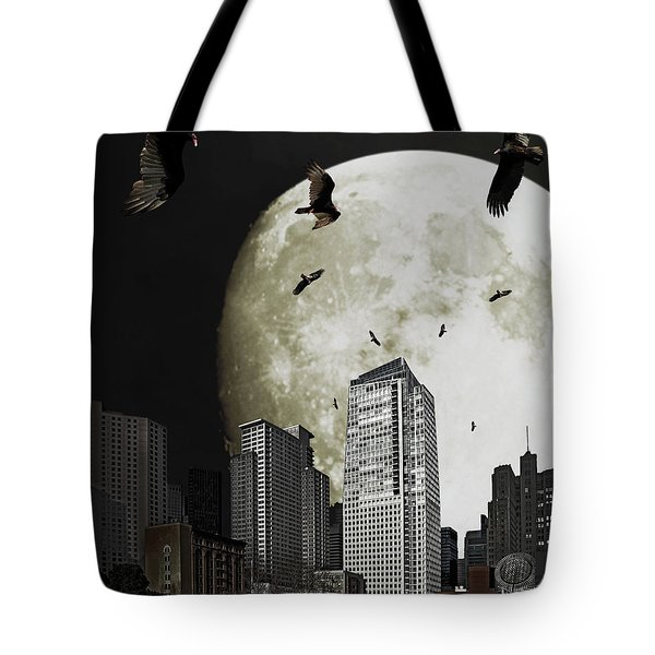 The Vultures Have Emerged From My Dreams Tote Bag by Wingsdomain Art and Photography