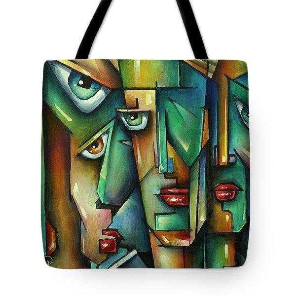 The Wall Tote Bag by Michael Lang