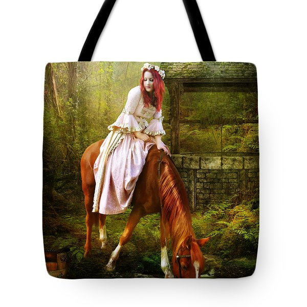 The Waterhole Tote Bag by Mary Hood