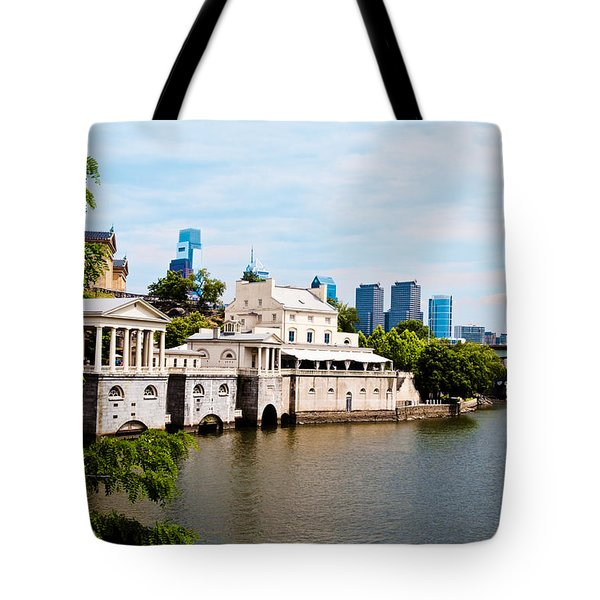 The WaterWorks in Spring Tote Bag by Bill Cannon