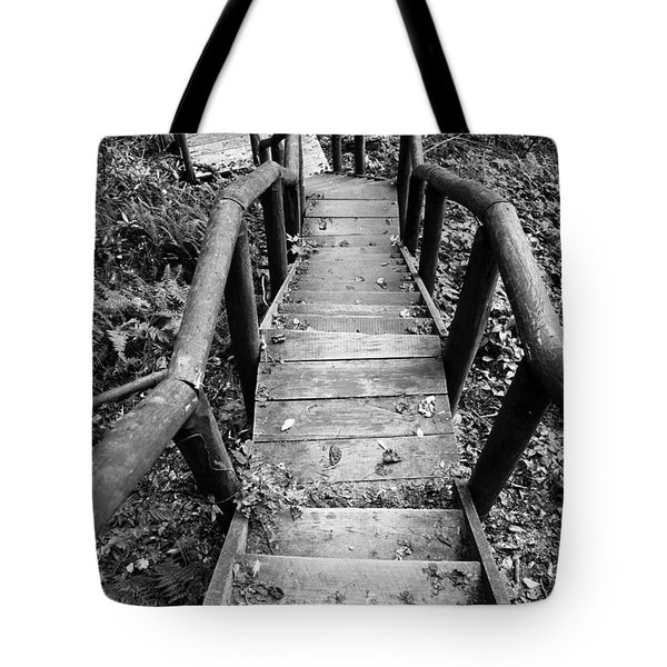 The Way Down Tote Bag by Olivier Steiner