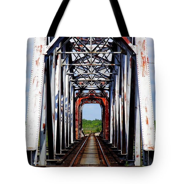 The Way Is Clear Tote Bag by Karen Wiles