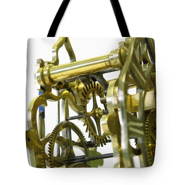 The Wheels Of Time Tote Bag by John Chatterley