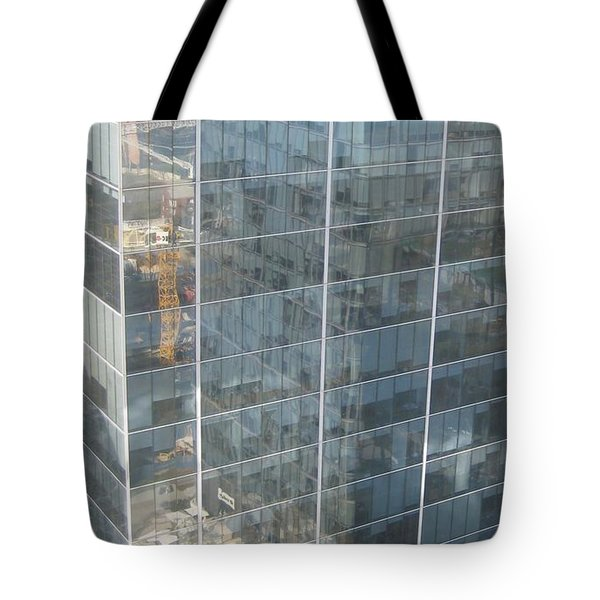 The Whole World Inside This Glass Tote Bag by Robert Margetts