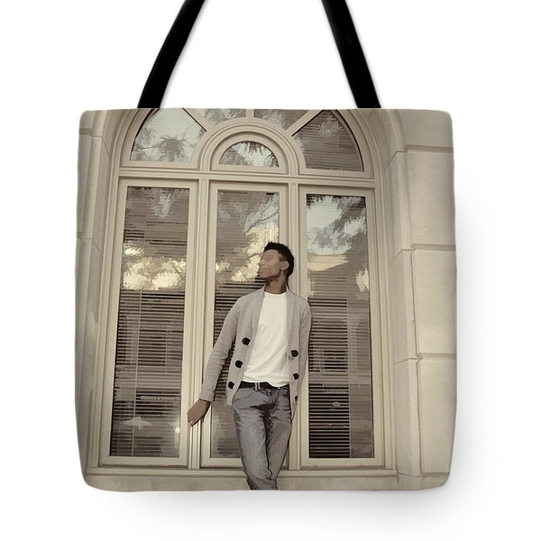 The Window Tote Bag by Alice Gipson