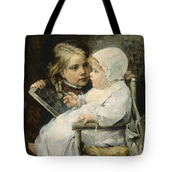 The Young Artist Tote Bag by Ellen Kendall Baker