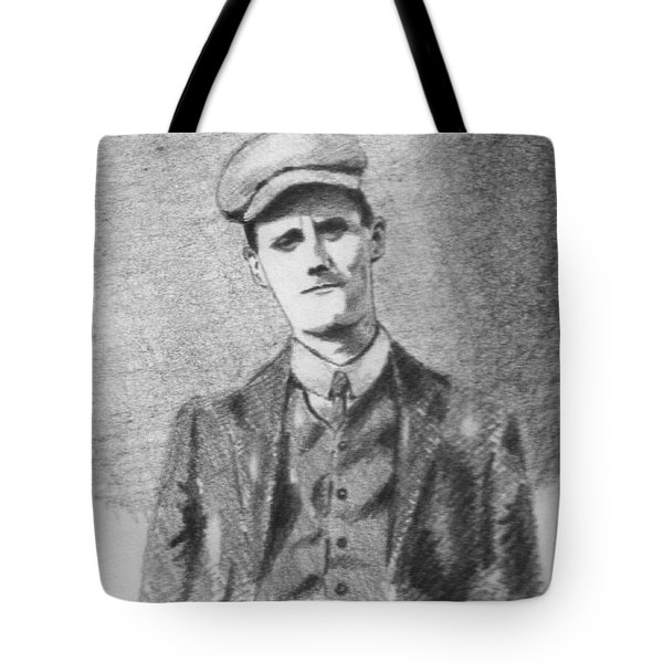 The Young James Joyce Tote Bag by John  Nolan