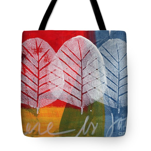 There Is Joy Tote Bag by Linda Woods
