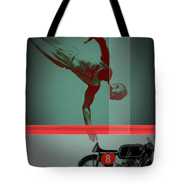 They Crossed That Line Tote Bag by Naxart Studio