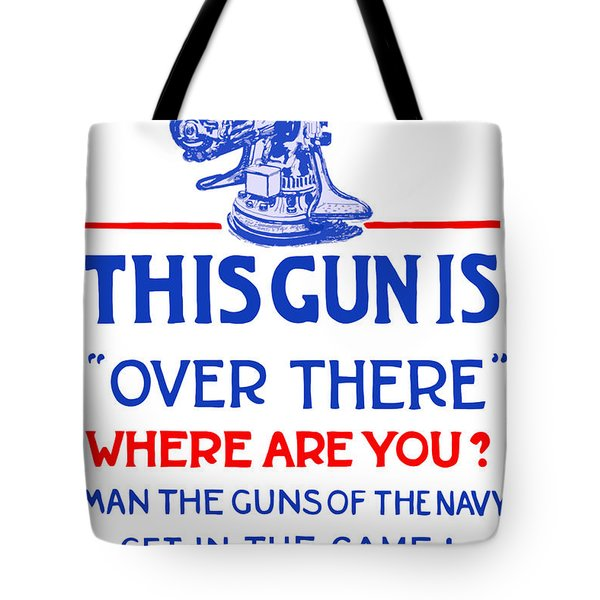 This Gun Is Over There Tote Bag by War Is Hell Store