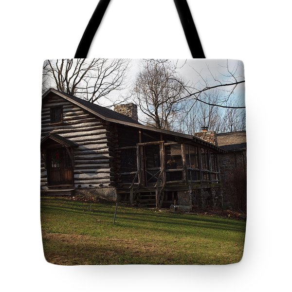This Old Cabin Tote Bag by Robert Margetts