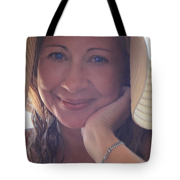 This Smile Was For You Tote Bag by Laurie Search