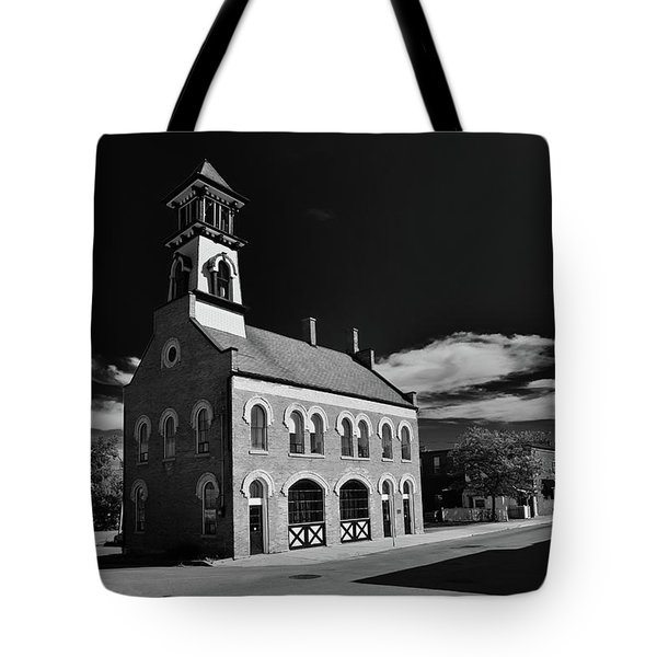 Thorold's Old Fire Hall Tote Bag by Guy Whiteley
