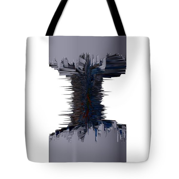 Thors' dumbell Tote Bag by Robert Margetts
