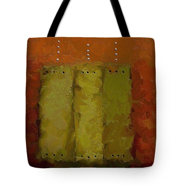 Three Tote Bag by Ely Arsha