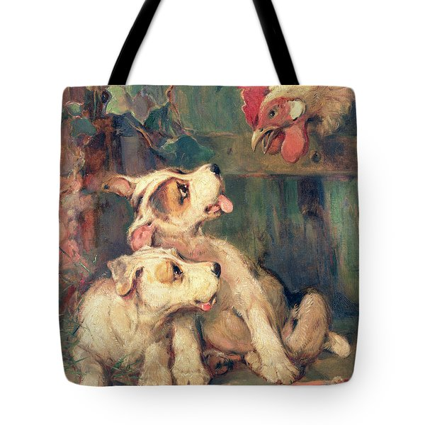 Three's A Crowd Tote Bag by Philip Eustace Stretton