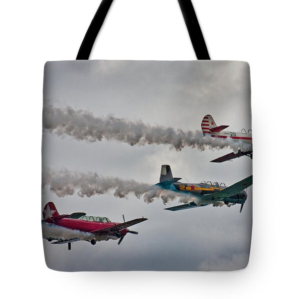 Thunder Tote Bag by Betsy Knapp