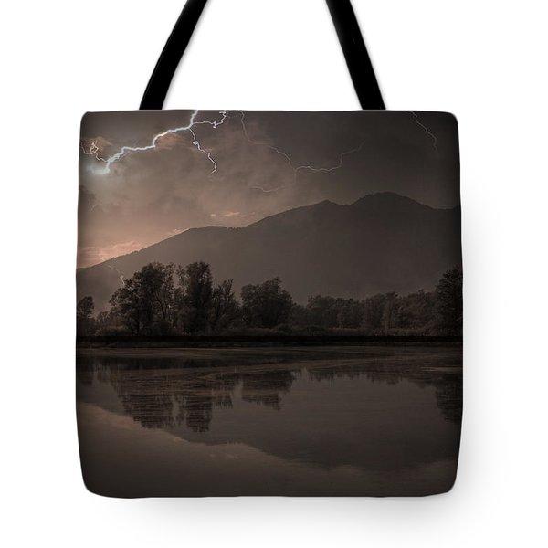 Thunder Storm Tote Bag by Joana Kruse