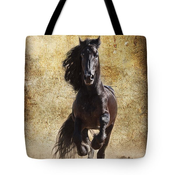 Thundering Stallion D6574 Tote Bag by Wes and Dotty Weber